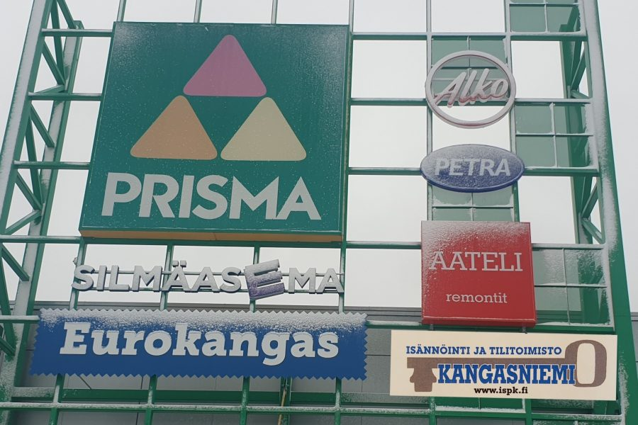 Yrityksemme muuttaa Prismaan 1.5.2020 alkaen.